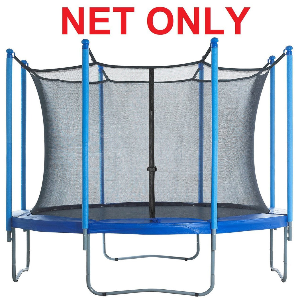 Strap Net Fits 12 Ft Round Frames With 8 Enclosure Poles