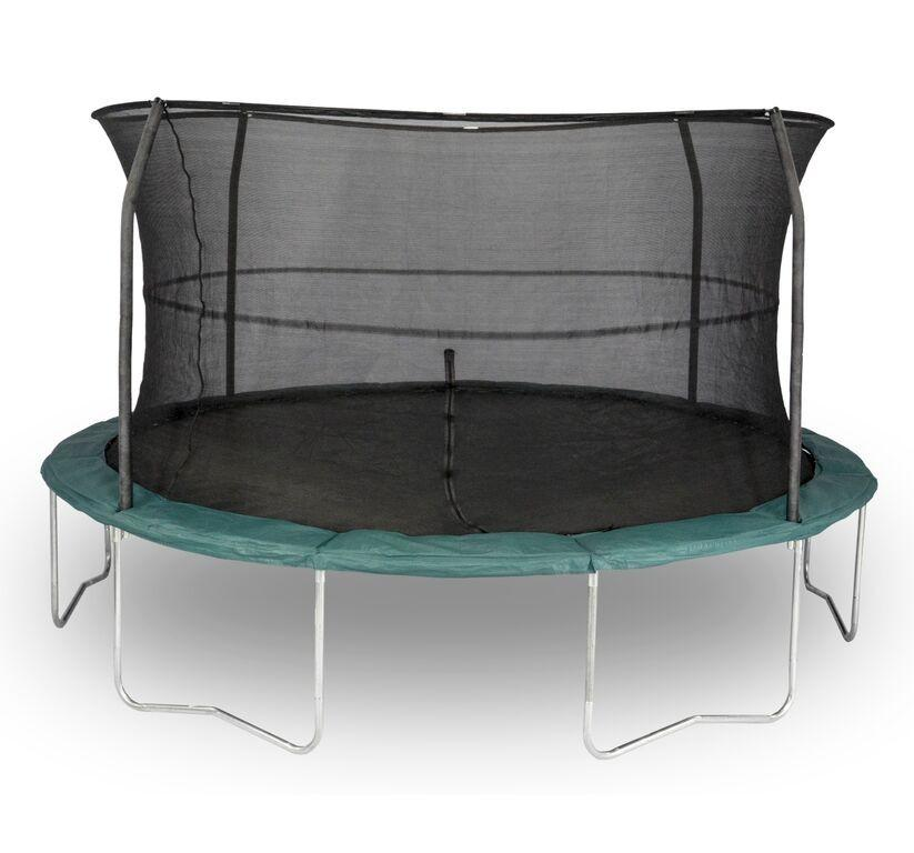 14' Orbounder Trampoline And Enclosure 6 Legs 4 Poles Model OR1413B6A1-DAL - Trampoline