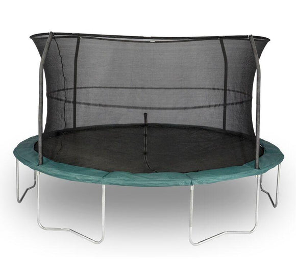14 FT Orbounder Trampoline with Enclosure With Lights and Sound