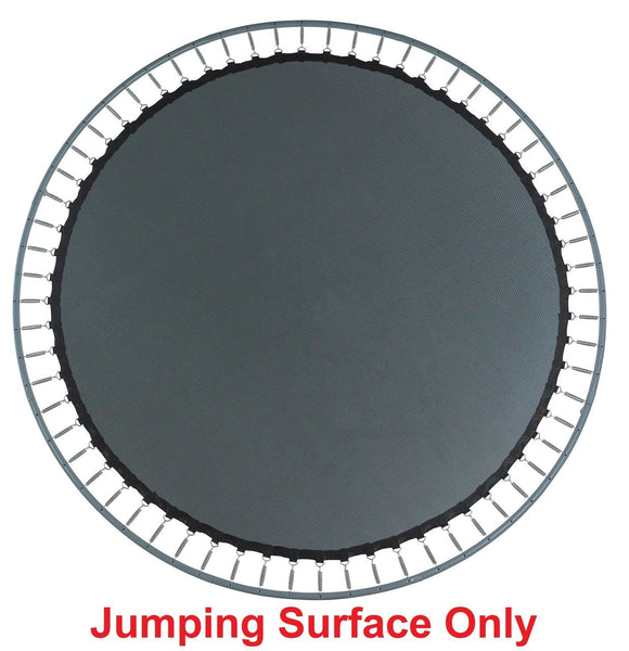 Jumping Mat Fits 15 Ft. Round Frames-96 V-Rings-6.5 Springs