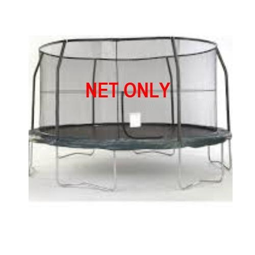 15 ft-6 Pole-Enclosure Netting With Rope - Heavy Duty