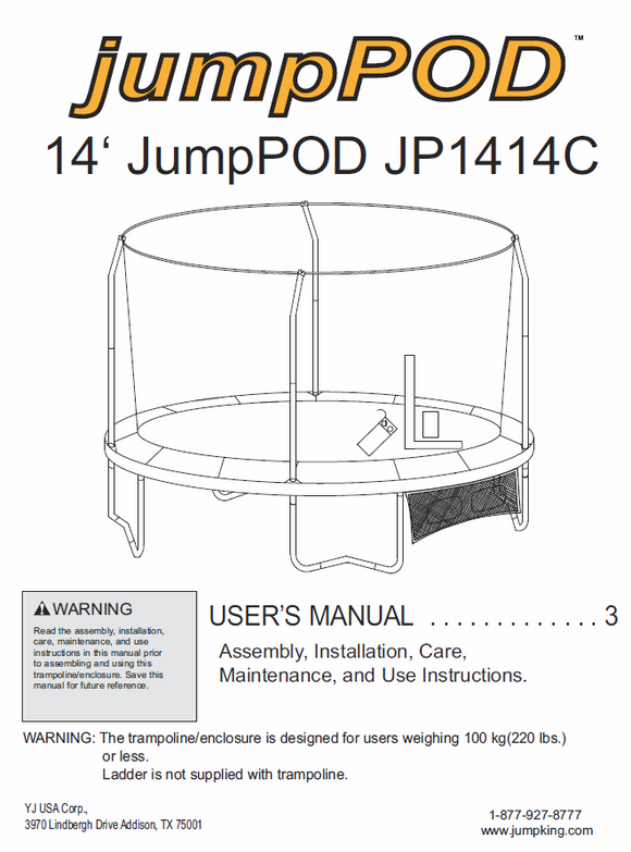 JP1414 User Manual