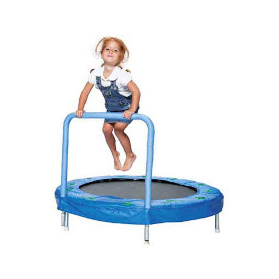 "JUMPKING 48"" BOUNCER WITH HANDLE - FROG BLUE"