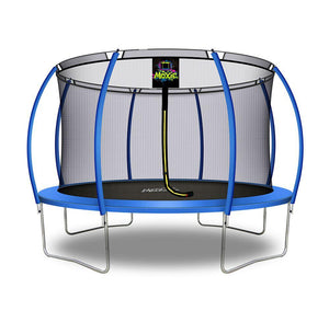 Moxie™ 12 FT Pumpkin-Shaped Outdoor Trampoline - Free Shipping