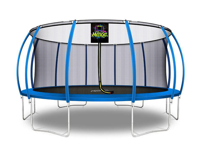 NEW! Moxie™ 16 FT Pumpkin-Shaped Trampolines