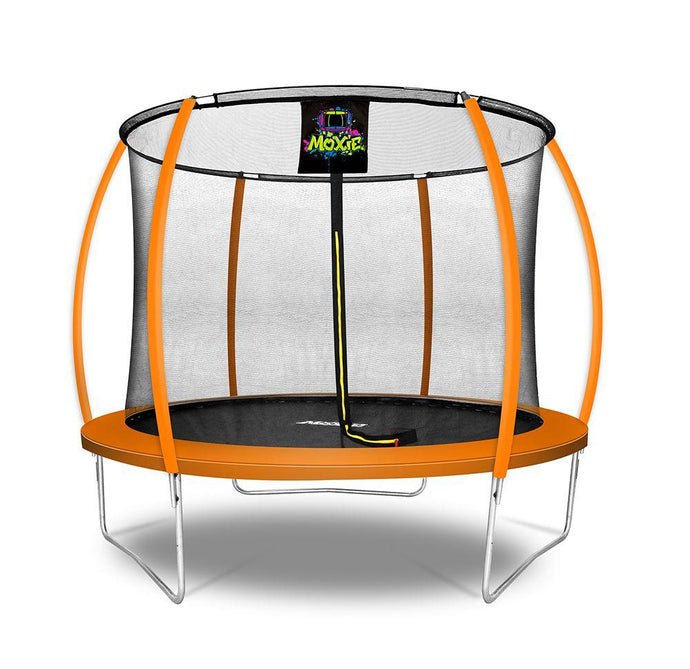 NEW! Moxie™ 10 FT Pumpkin-Shaped Trampoline