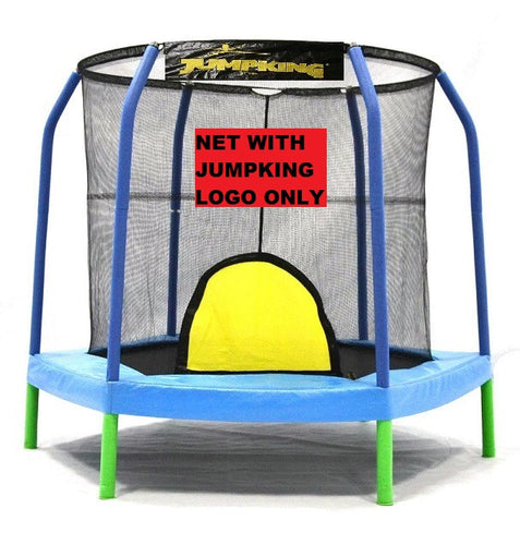 Bazoongi 7.5' ft. Hexagon Trampoline Net For 6 Poles Enclosure System