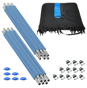 Upper Bounce 12FT-6 Pole Outside Trampoline Enclosure Set