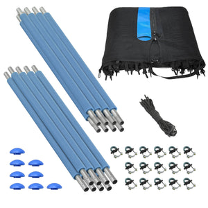 Upper Bounce 14FT-8 Pole Outside Trampoline Enclosure Set