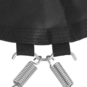 "40 inch Upper Bounce Rebounder Jumping Mat with 34 Hooks using 3.5"" Springs"