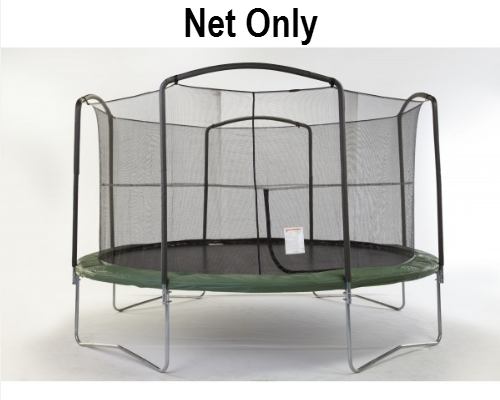 12ft-4 Arch-Enclosure Netting With Straps And Rope