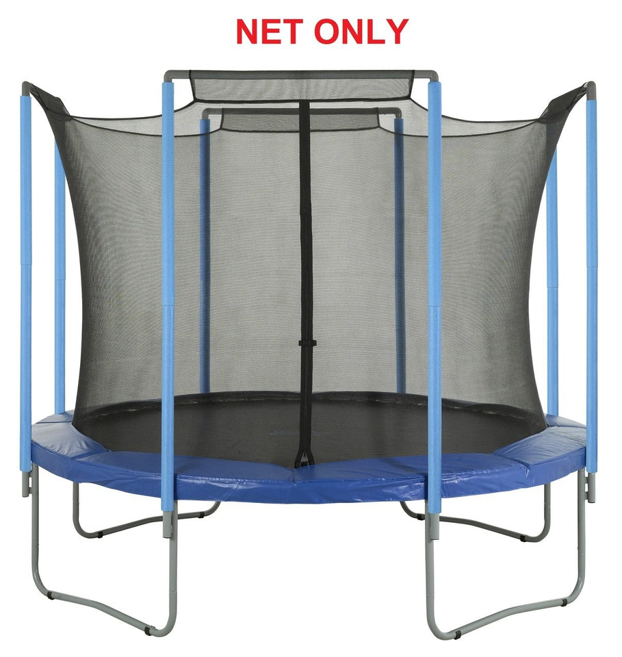 Safety Net Fits 13 Ft. Round Frames-4 Arches-Sleeves On Top