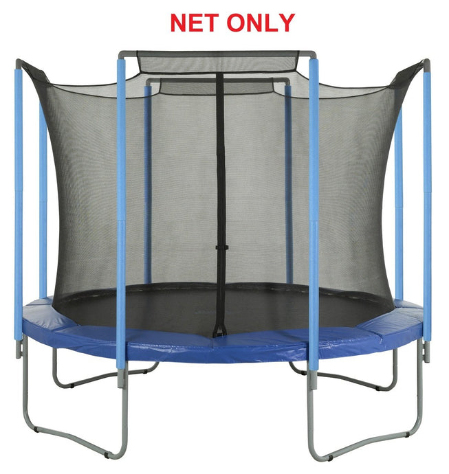 Safety Net For 14 Ft. Round Frames-4 Arches-Sleeves On Top