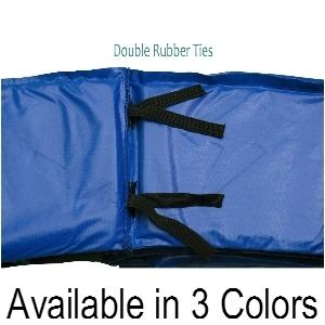14ft x 10in Upper Bounce® Blue Super Spring Cover Safety Frame Pad - Trampoline