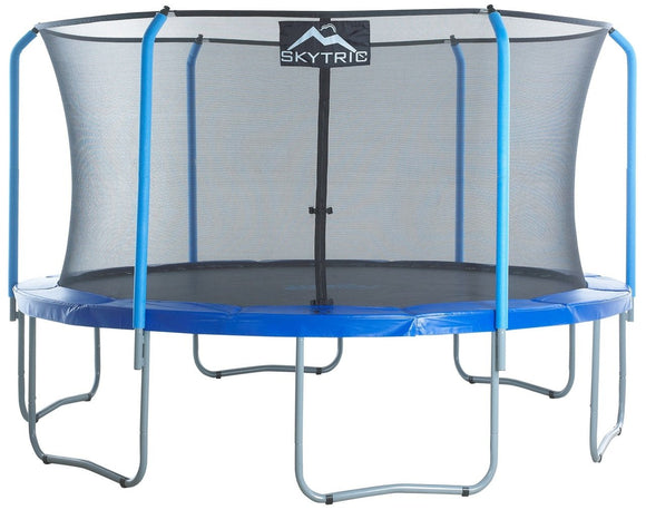 Upper Bounce Skytric 15 Ft Trampoline & Enclosure Set