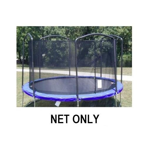 Jumpking Net Fits 13Ft. Diameter Frames With 4 Arched Poles - Trampoline
