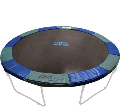 14ft x 10in Blue-Green Upper Bounce® Super Spring Cover Safety Frame Pad - Trampoline