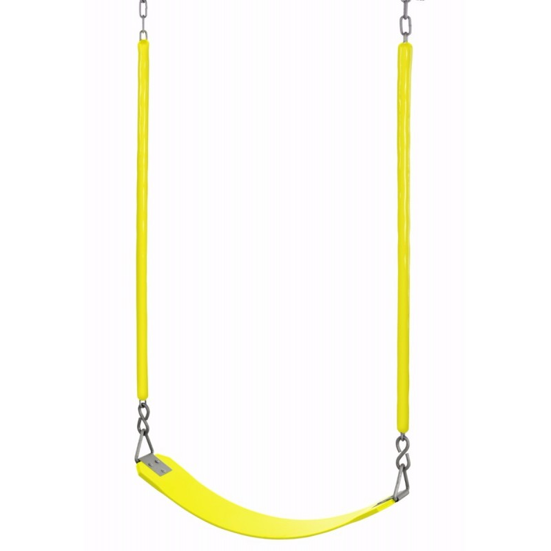 Swingan - Belt Swing For All Ages - Soft Grip Chain - Fully Assembled