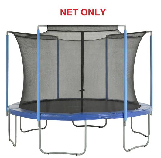 Safety Net Fits 6 Ft. Round Frames-3 Arches-Sleeves On Top