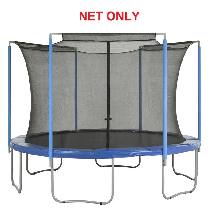 Safety Net Fits 14 Ft. Round Frames-3 Arches-Sleeves On Top