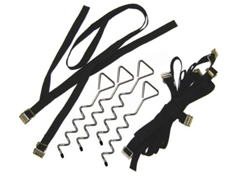 JumpKing Trampoline Anchor Kit - Trampoline
