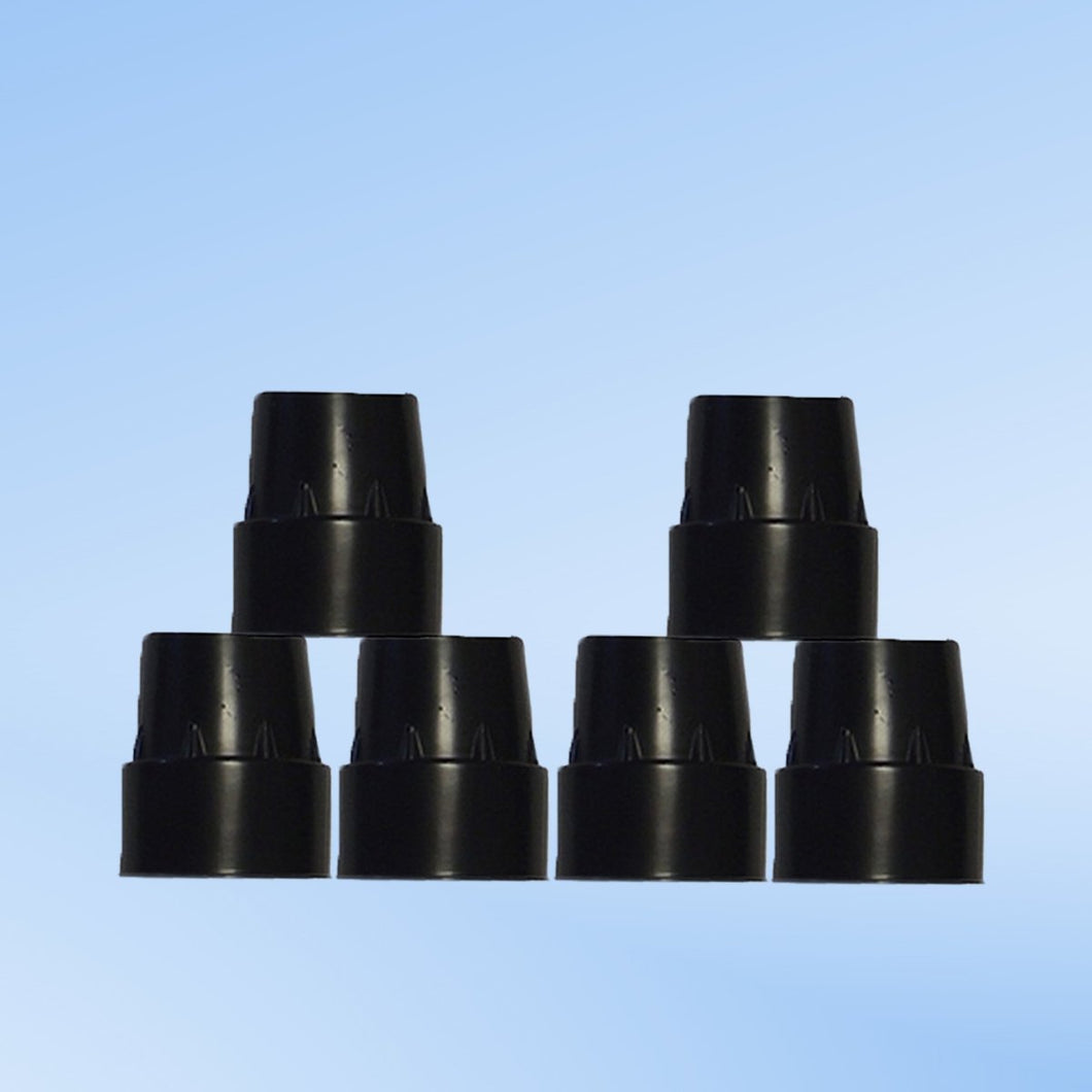 Replacement Rubber Cap Tips For Mini Trampoline Legs (Set Of 6)