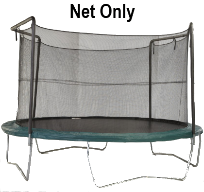 Net Fits 14 Ft. Round Frames With 2 Arch Enclosure Systems-UBNET-14-2AP