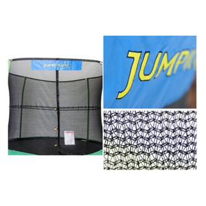 15 FT JumpPod Trampoline with Enclosure - Trampoline