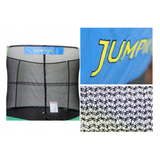 15 FT JumpPod Trampoline with Enclosure