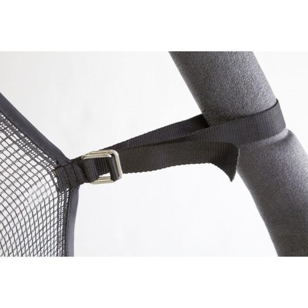 Net And Pad Combo For 15 Ft Round Frames With 8 Poles Or 4 Arches-YJNYJP-IS-15-8