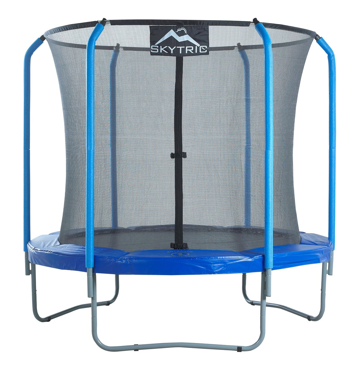 SKYTRIC 8 FT. Trampoline with Top Ring Enclosure System ...