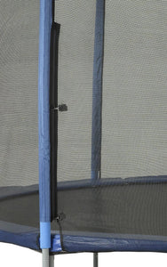 Safety Net Fits 12 Ft. Round Frames-6 poles-Installs Outside Of Frame