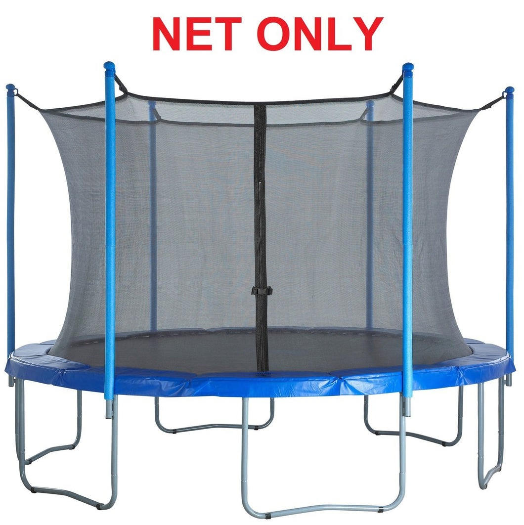Strap Net Fits 8 Ft Round Frames With 6 Enclosure Poles
