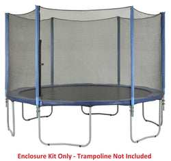 Upper Bounce 7.5FT-6 Pole Trampoline Enclosure Set