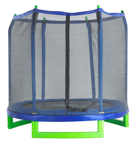 7Ft Indoor/Outdoor  Classic Trampoline & Enclosure Set