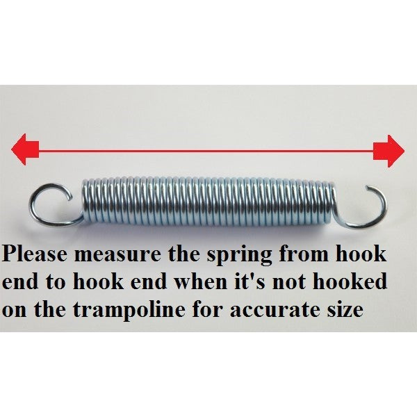 "6.5"" Trampoline Springs Heavy-Duty Galvanized (Set of 5,20,50) - Trampoline"