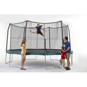 15FT JumpPod Trampoline with 6 pole enclosure system