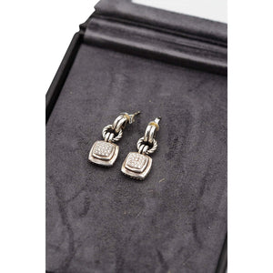 David Yurman Albion Diamond Earrings - IDoGood