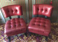 Henredon leather chairs - each - IDoGood