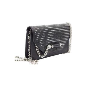 Mackage Black Leather Evening Bag - IDoGood