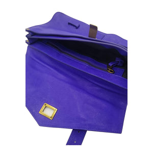 Purple Leather Proenza Schouler Clutch - IDoGood