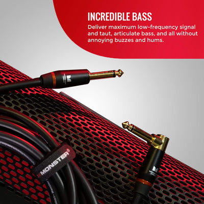 Monster Prolink Monster Bass Instrument Cable - 21