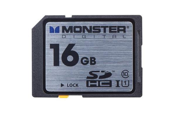 Monster® Digital Class 10 SDHC Cards