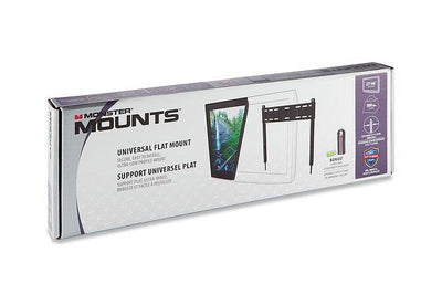 "Flat TV Mount - 0.5"" from Wall - Flexible Positions - Medium"