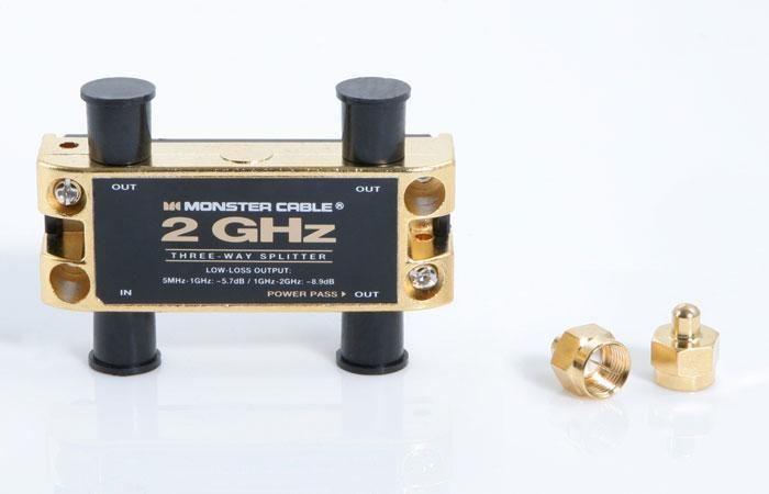 Two Gigahertz Low-Loss RF Splitters for TV and Satellite MKII