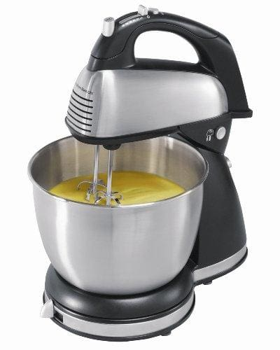 Hamilton Beach 64650 6-Speed Classic Stand Mixer Stainless Steel - Appliance