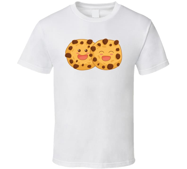 Happy Cookies T-Shirt - Classic / White / Small - T-Shirt