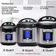 Instant Pot Ultra 6 Qt 10-In-1 Multi- Use Programmable Pressure Cooker Slow Cooker Rice Cooker Yogurt Maker Cake Maker Egg Cooker Sauté