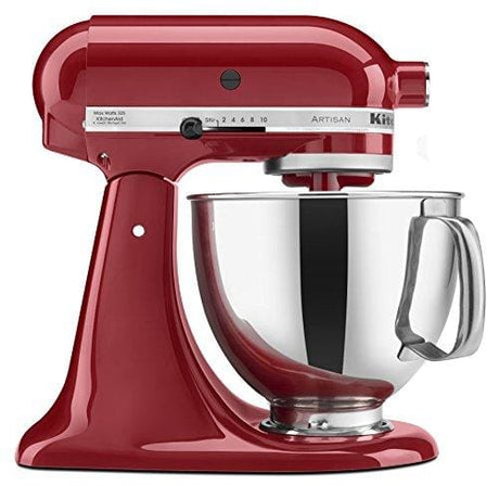 Kitchenaid Ksm150Pser Artisan Tilt-Head Stand Mixer With Pouring Shield 5-Quart Empire Red - Appliance