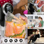 Supreme Sous Vide Thermal Immersion Circulator Pro Gourmet Cooker Stainless Steel Sous Vide Cooker Slow Sous Vide Circulator Kitchen Food -